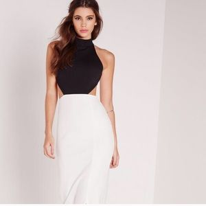 Semi formal gown